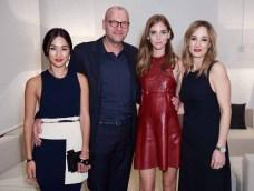 Nicole Warne, Ulrich Grimm, Chiara Ferragni and Laura Burdese