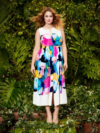 Lela Rose for Lane Bryant S15 (10)