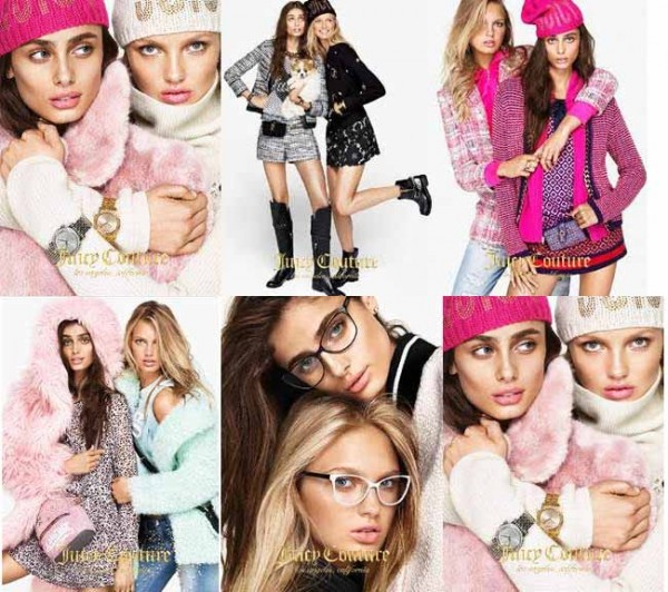juicy couture fall 2015 campaign
