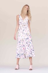 Rebecca Taylor Floral Ruffle Dress