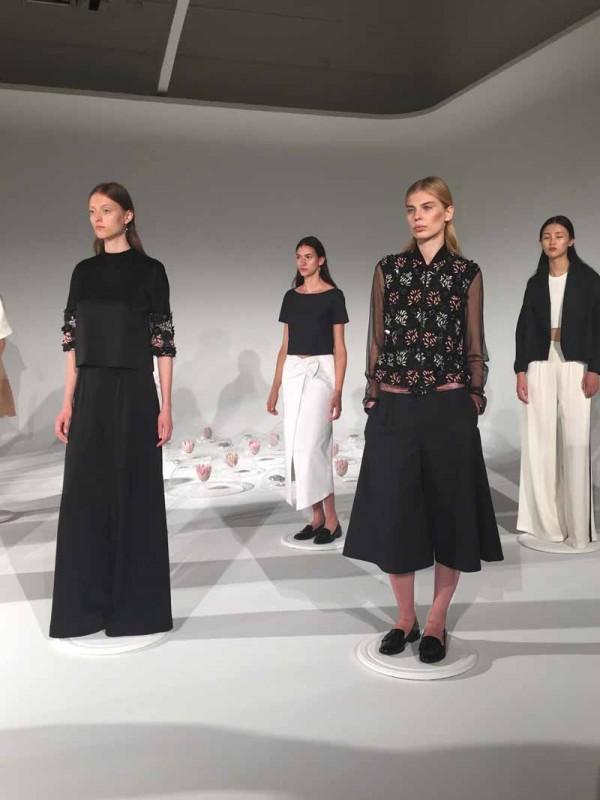 NEW YORK 9 Sep 2015 - A Moi Spring 2016 presentation at Industria Studios. Photo by Mari Davis/FashionWindows