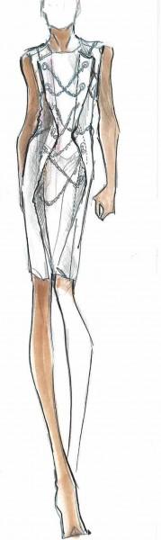 Herve_Leger_FW16_Sketch