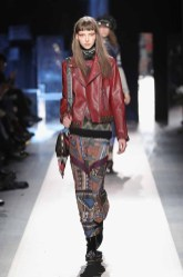 DESIGUAL_NYFW_AW17_ATWALK_LOOK 21 NEW YORK, NY - FEBRUARY 09:A model walks the runway at the Desigual show New York Fashion Week The Shows at Gallery 1, Skylight Clarkson Sq on February 9, 2017 in New York City