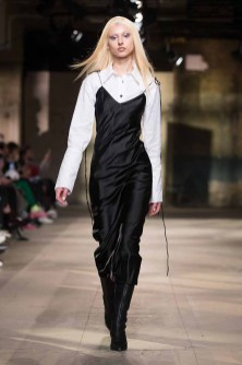The Old Selfridges Hotel, London UK. 7th January 2018. Art School London show their Autumn Winter designs at their catwalk show on day 2 of London Fashion Week Mens. ©Chris Yates