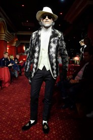 A model walks the runway at the Billionaire show during Men's Fashion Week Fall/Winter 2018/19 on January 14, 2018 in Milan, Italy.
