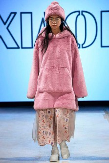 Xiao Li London Womenswear Fall Winter 2018-2019 London February 2018