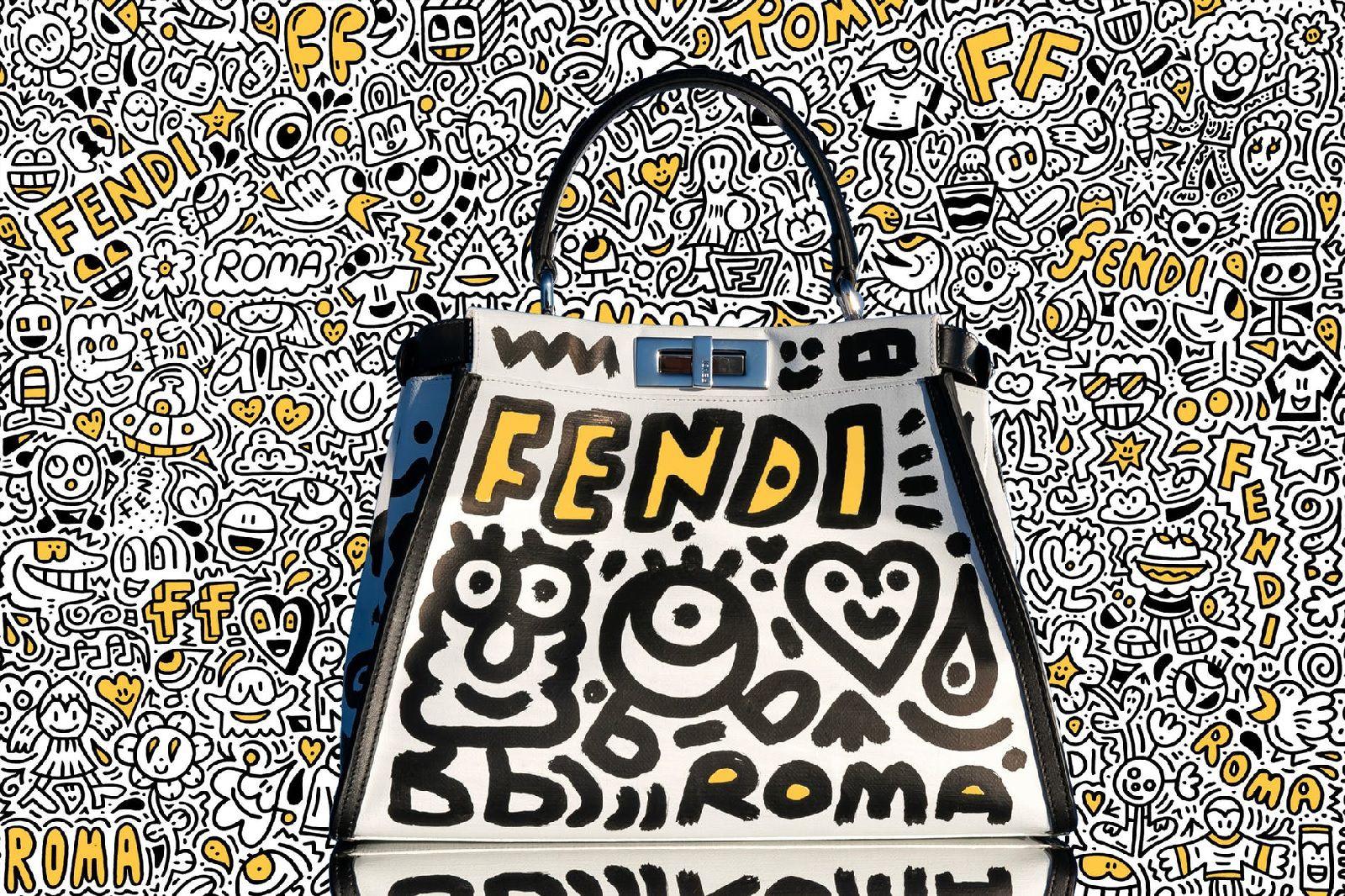 Fendi Presents Mr Doodle Fashionwindows Network
