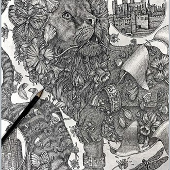THE TOWER MENAGERIE Barbary Lion Courtesy Of SABINA SAVAGE