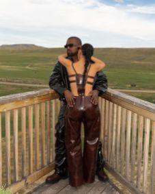 Kim-Kardashian-and-Kanye-West-In-Mowalola-OnoBello-2