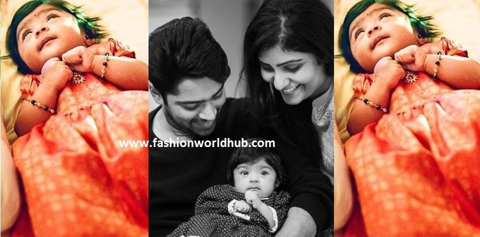 Allari naresh & virupa named their baby name as......