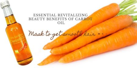 Carrot Oil Benefits