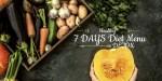 7 Days  Diet Menu Detox