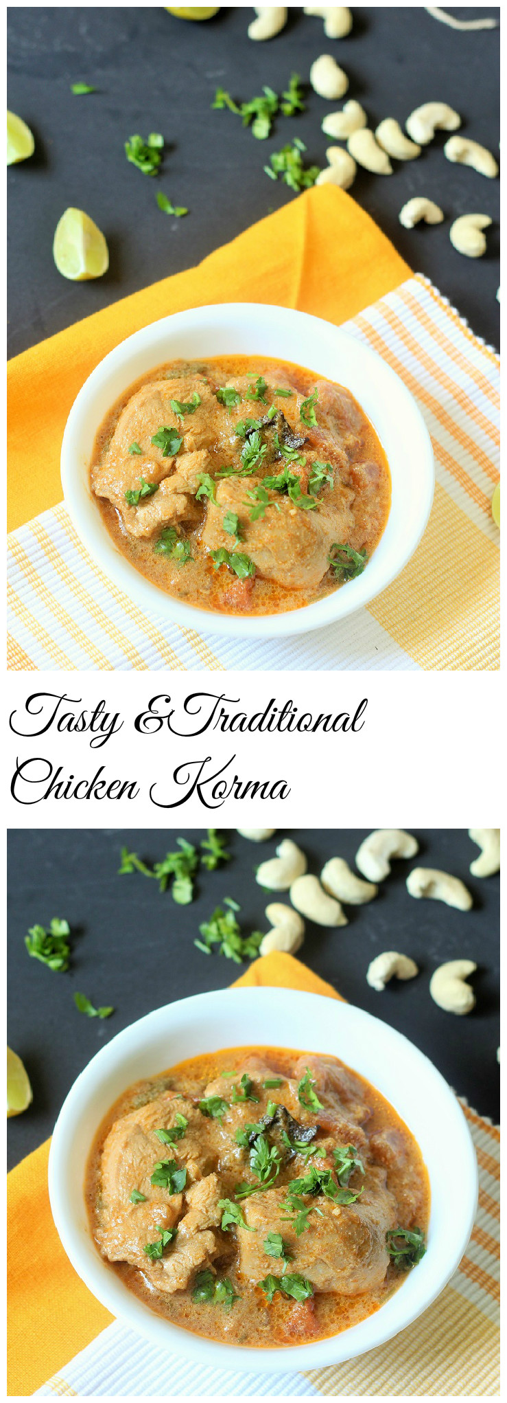 Tasty and Traditional Chicken Korma Recipe