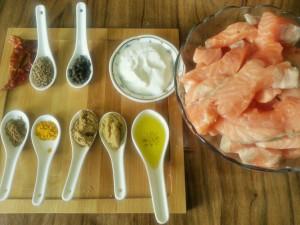 masaledar-baked-salmon-ingredients