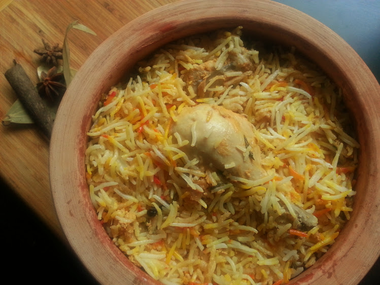 Hyderabadi Chicken Dum Biryani recipe, How to make Dum Biryani restaurant style