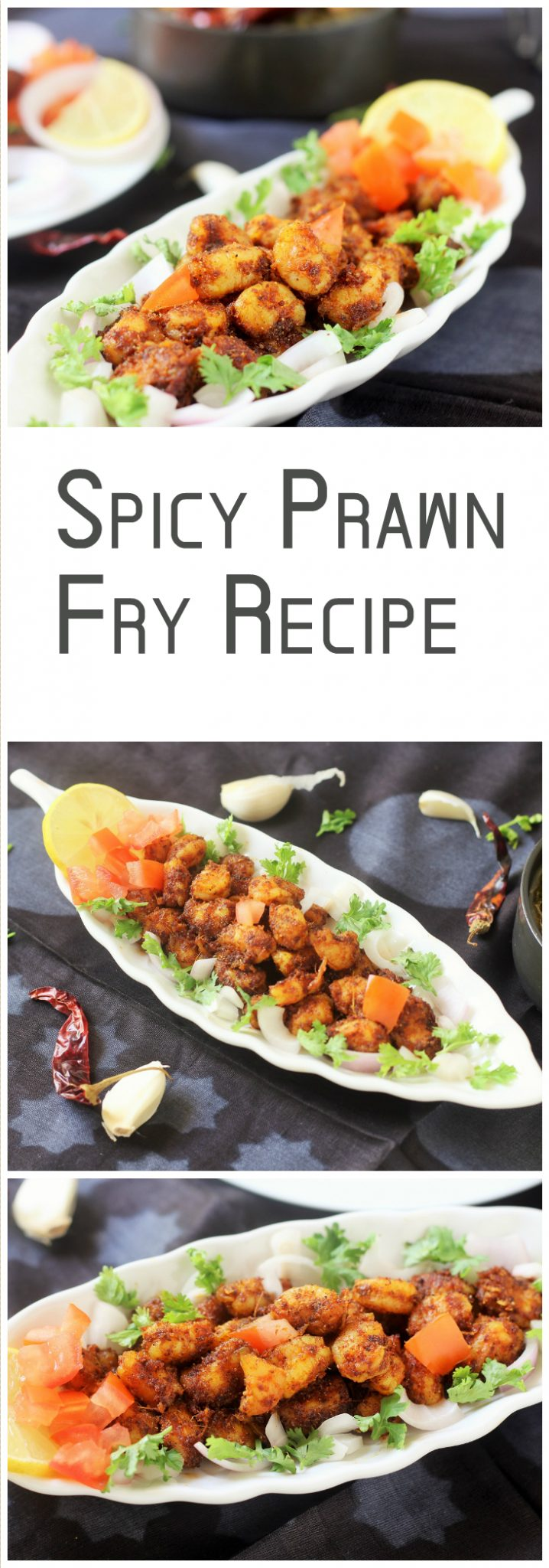 crispy and delicious spicy prawn fry recipe