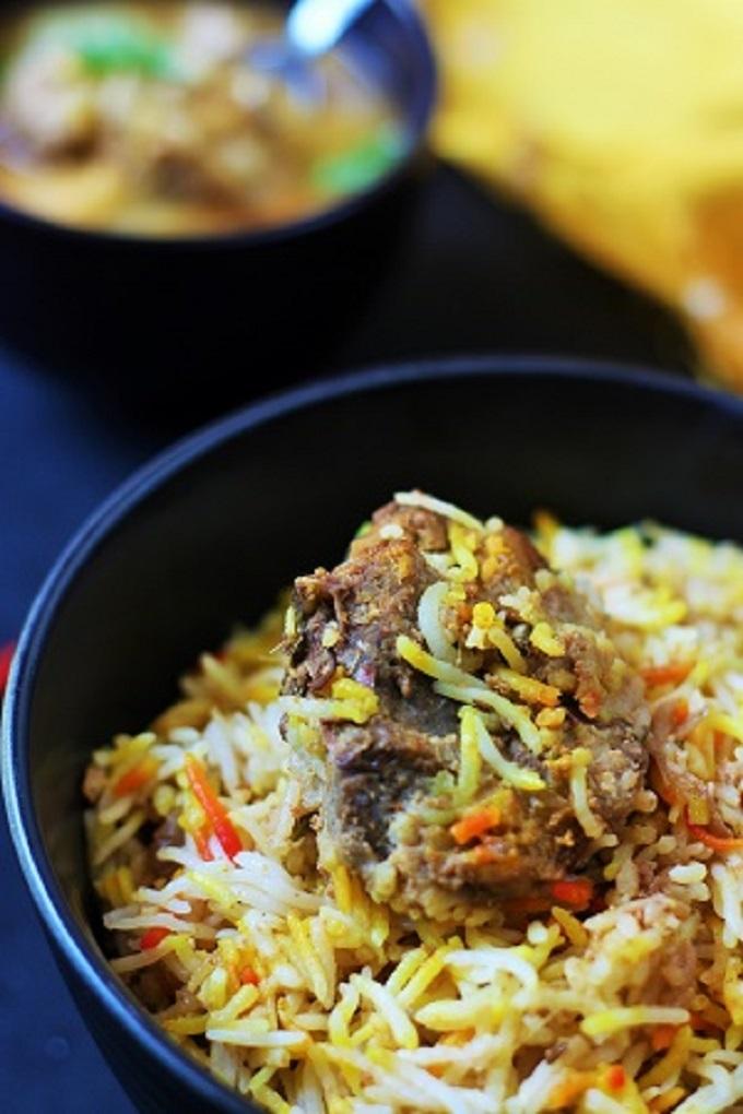 Ambur mutton biryani recipe-a delicious mutton biryani recipe from the town of Ambur in Tamil Nadu #indianrecipe #muttonbiryani #indianbiryanirecipe #biryani