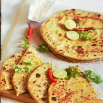 Chicken Keema Paratha Recipe-How to make chicken keema paratha-An awesome paratha stuffed with delicious mince chicken filling.