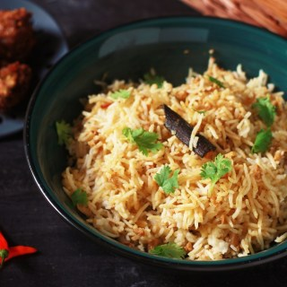 Mutton Keema Pulao recipe-A rice preparation made with mutton mince which is absolutely delicious and tasty and yet so simple to make. #indianrecipes #halalrecipes #keemapulao #muttonpulao #muttonmince #keemabiryani