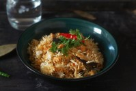 Chicken keema biryani recipe made with chicken mince in aromatic spices and mixed with rice for a fantastic finish.