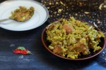Gawar ki Sabzi with Gosht is nothing but the cluster beans dish made in mutton masala. Simple, easy and tasty. If you are fond of the Cluster Beans, you will surely love this recipe.