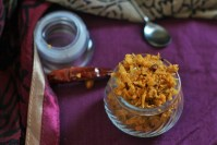 Amla Thokku Recipe or the Indian Gooseberry Pickle is a delicious pickle made with the loaded with health benefits of Amla. The Amla Thokku Recipe or the Indian Gooseberry Pickle is super easy to prepare, spicy, and uses raw amla which give it an unique flavor due to it's sourness.