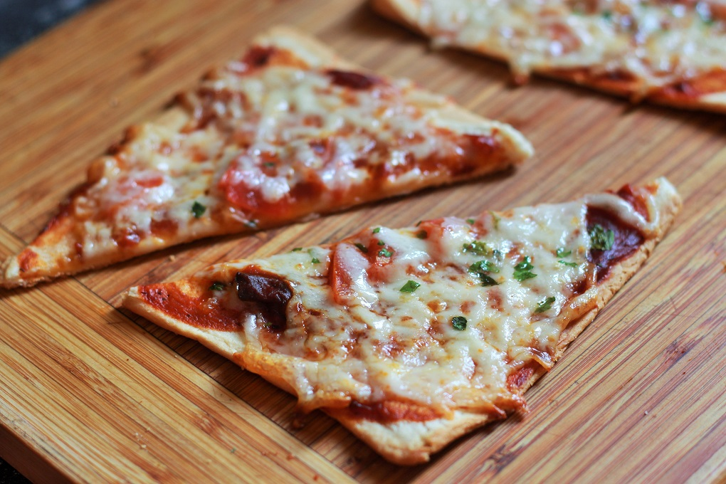 Bread Pizza Recipe, Veg Bread Pizza. Simple, Easy and Tasty. Making pizza cannot get any simpler than this. Bread slices loaded with cheese and vegetables of your choice and baked to perfection in the oven.