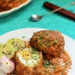 Nargisi Kofta Curry, Nargisi Kofta recipe is an awesome dish which will be a perfect dish for the party table. Royal, Elegant, Delicious, this dish will be an amazing curry that goes well with chapati, naan, any kind ofrice, pulaos or parathas.
