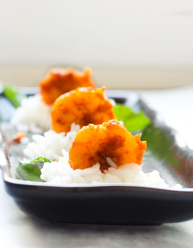 Prawn Stir Fry, Indian Style or Easy Prawns Fry is as the name suggests a simple and quick to make shrimps fry recipe.