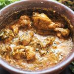 chicken handi recipe close up