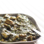 Saag Gosht Recipe or the Spinach Mutton Curry, a very popular Indian dish, is an easy to follow recipe. Made with the goodness of spinach and mutton, both rich in protein, this is surely a delight to make and eat.
