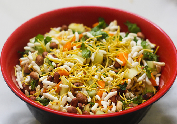 Raw Mango Bhel Recipe, made with raw mangoes is a splendid snack that would leave you wanting for more.