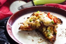 Veg Bread Pizza Recipe or the bread pizza sandwich is a tasty, simple and very easy recipe. It is a great breakfast or a snack recipe.