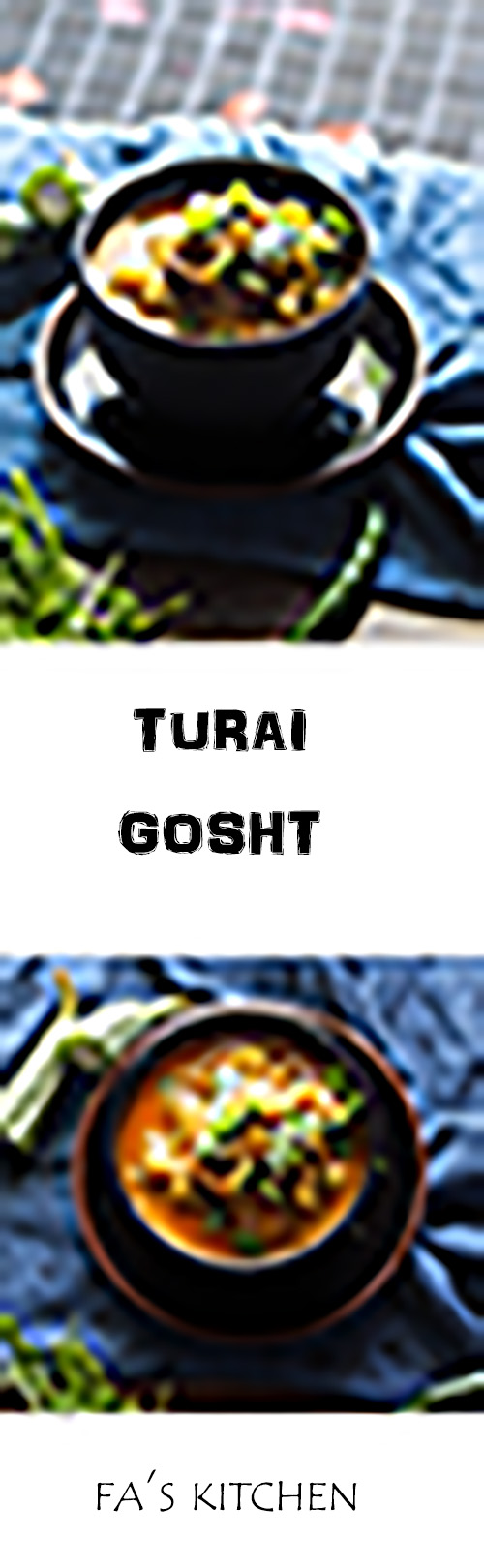 Turai gosht recipe is a delicious combination of ridge gourd and mutton curry. It is not only tasty but also very easy to make.