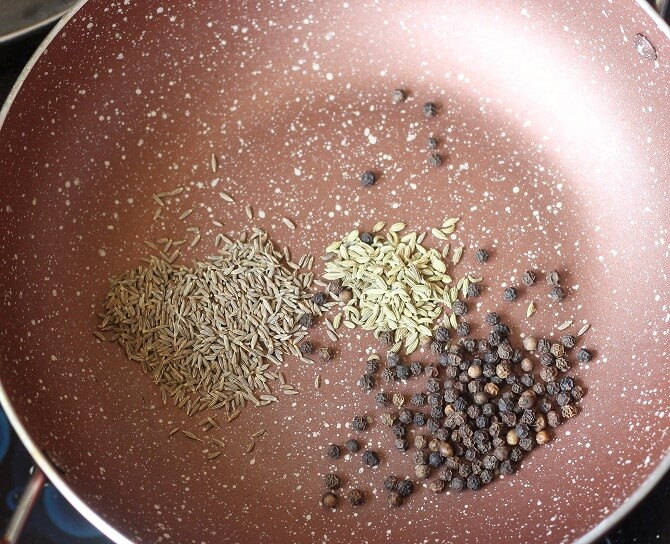 roasting whole spices
