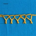 crested chain stitch