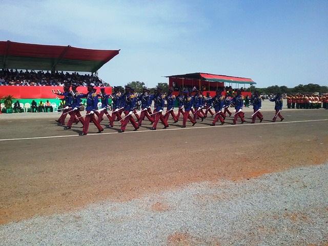 Défilé de l'Academie Militaire George Namoino