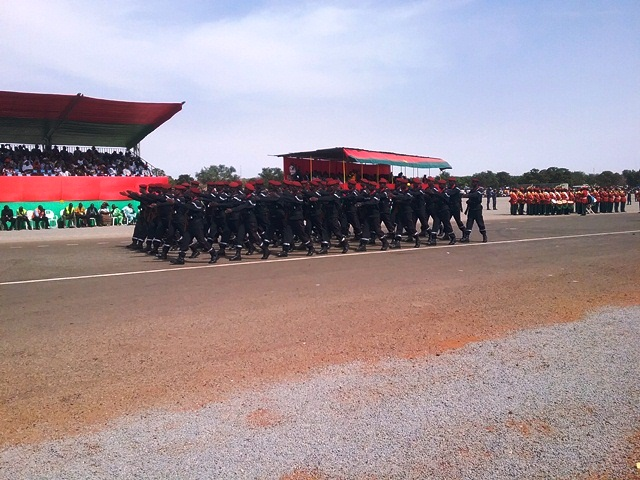 Défilé de la Brigade Nationale des Sapeurs Pompier