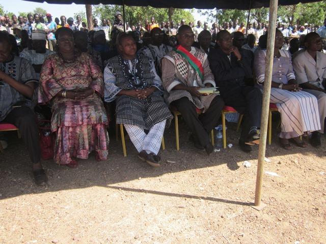Conseil municipal de la commune rurale de Pilimpikou