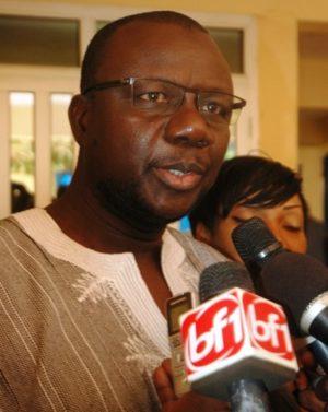 Moussa Maïga, secrétaire général du ministère de l'Agriculture et des Aménagements hydrauliques
