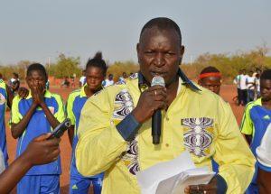 Député Boubabar Ouédraogo, parrain de la 5e édition