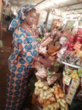 Safiatou Derme, commerçante souhaite plus de serieux autour de la confection des pagnes du 8 mars