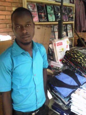 Mr Compaoré Mouazou commerçant