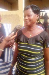 La conseillère Fati Ouédraogo, présidente de l'organisation de la cérémonie du 08 mars dans l'arrondissement 9