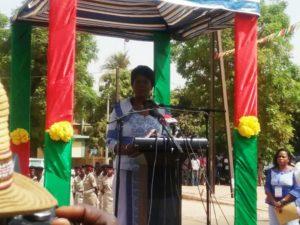 Mot de la première dame Mme Sika Kabore épouse du chef de l'Etat