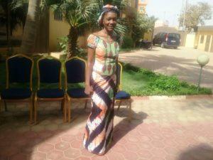 Mme Caroline Ouanré, journaliste et leader d'entreprise à partagé son expérience