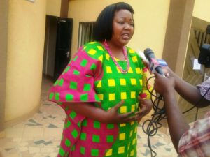 Mme Benjamine Douamba, journaliste activiste politique et leader d'association