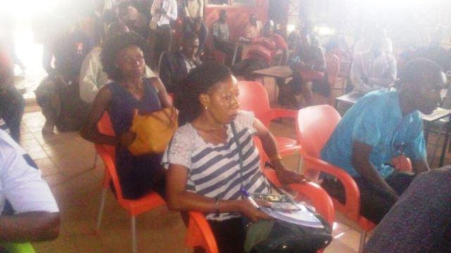 Les participants a la conférence de presse sur la 3e édition du reggae city festival