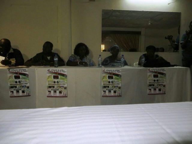 Les participants à cette conférence