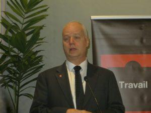 Le directeur général adjoint du groupe Orange Bruno Mettling